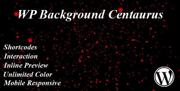 WP Background Centaurus - CodeCanyon Item for Sale