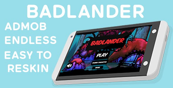 Badlander - Endless & Admob
