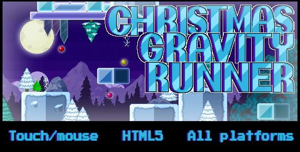 Christmas Gravity Runner - CodeCanyon Item for Sale