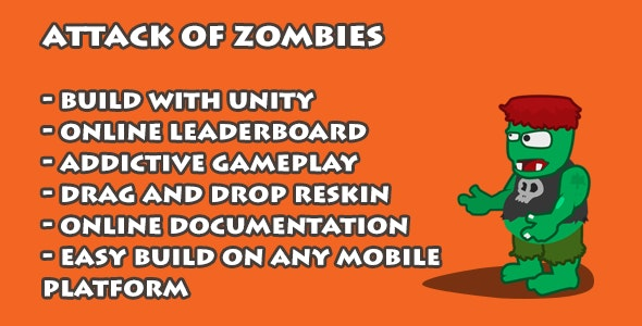 Attack Of Zombies - CodeCanyon Item for Sale