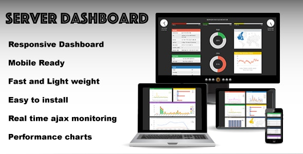 Server Dashboard - CodeCanyon Item for Sale