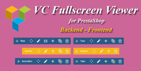 Visual Composer Fullscreen Viewer for Prestashop