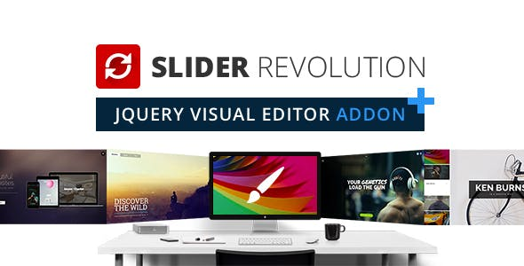 Slider Revolution jQuery Visual Editor Addon
