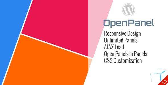 WP OpenPanel - Responsive Panel for WordPress - CodeCanyon Item for Sale