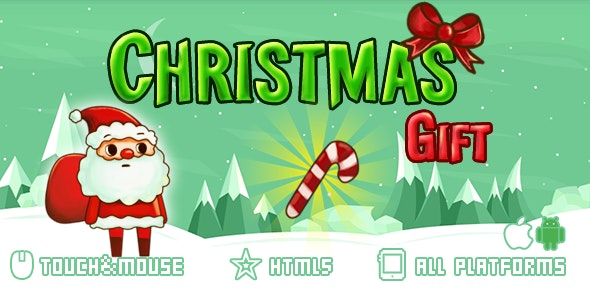Christmas Gift-html5 mobile game - CodeCanyon Item for Sale