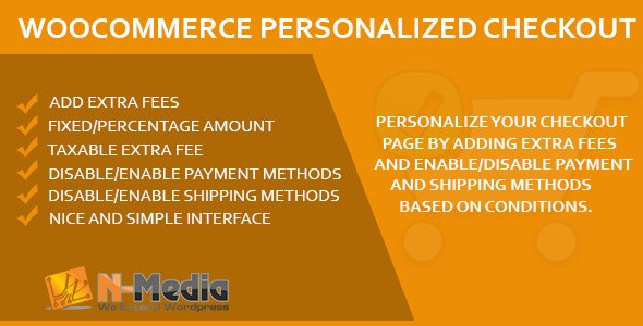 WooCommerce Personalized Checkout Page - CodeCanyon Item for Sale