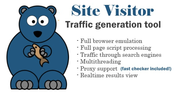Bear Site Visitor - CodeCanyon Item for Sale