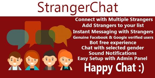 Stranger Chat - Meet the Stranger - CodeCanyon Item for Sale