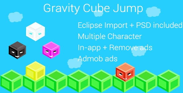 Gravity Cube Jump - CodeCanyon Item for Sale