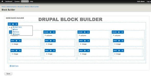 Drupal Block Builder