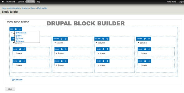 Drupal Block Builder - CodeCanyon Item for Sale