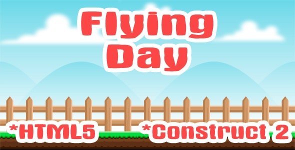 Flying Day - HTML5 Game(Capx) - CodeCanyon Item for Sale