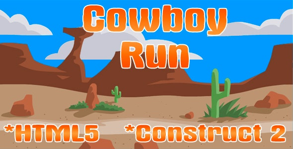 Cowboy run - CodeCanyon Item for Sale