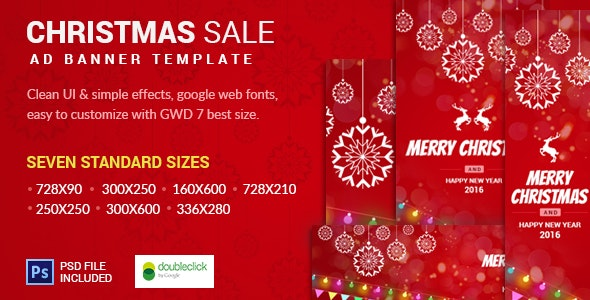 Christmas Sale | AD Banner Template - CodeCanyon Item for Sale