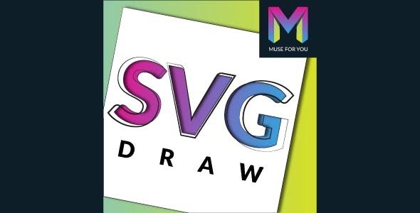 SVG Draw Muse Widget by Muse For You