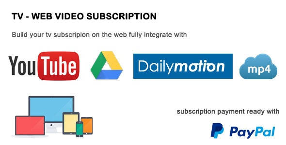 TV - Video Subscription - CodeCanyon Item for Sale