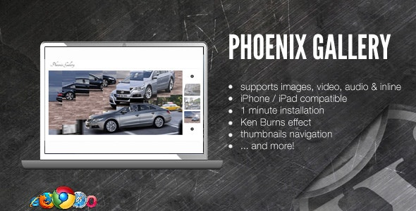 WordPress Media Gallery - Ken Burns Effect - CodeCanyon Item for Sale