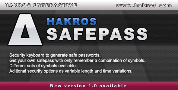 Hakros SafePass - CodeCanyon Item for Sale