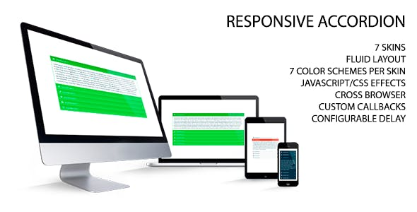 Responsive Accordion