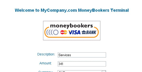 MoneyBookers Payment Terminal