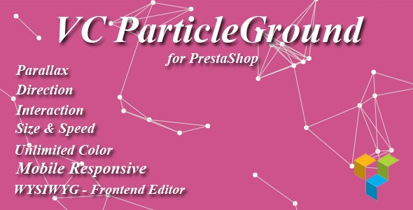 VC ParticleGround for Prestashop - CodeCanyon Item for Sale