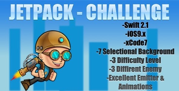 JetpackChallenge-iOS Game-SpriteKit/Swift2.1/iOS9+
