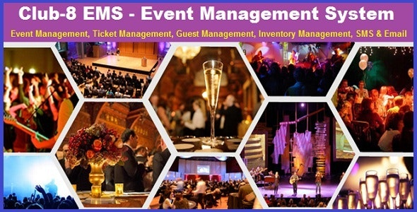 CLUB-8 EMS - Event Management System A to Z - CodeCanyon Item for Sale
