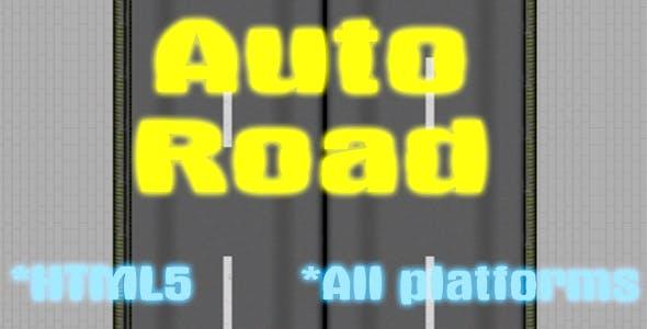 Auto Road - HTML5 Mobile Game