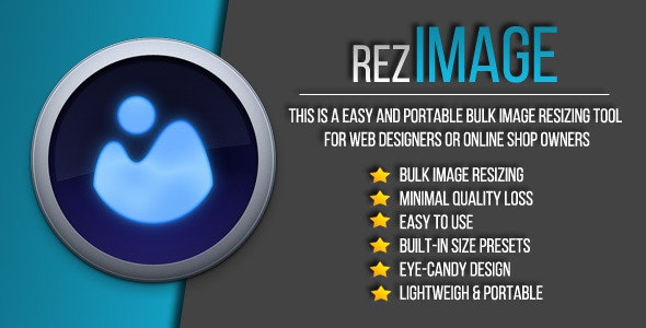RezImage - Easy Bulk Image Resizing - CodeCanyon Item for Sale
