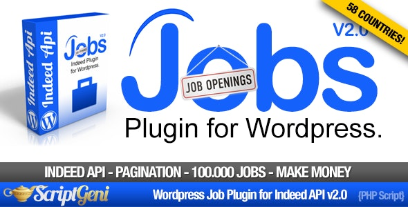 Jobs Plugin for Wordpress - CodeCanyon Item for Sale