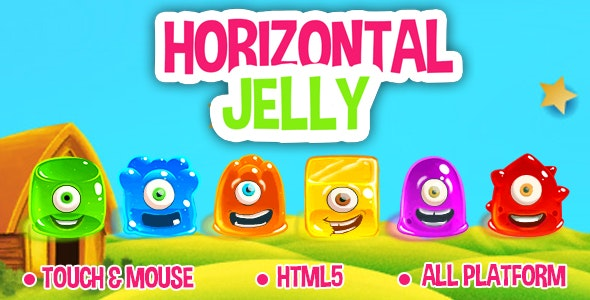 Horizontal Jelly - HTML5 game - CodeCanyon Item for Sale