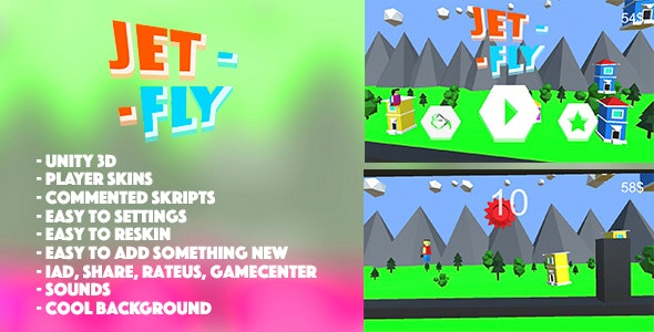 Jet Fly - CodeCanyon Item for Sale
