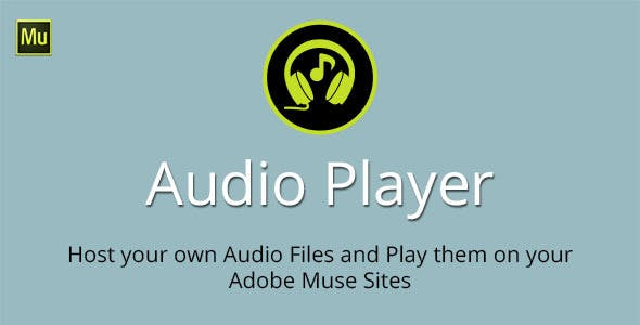 Audio Player Adobe Muse Widget