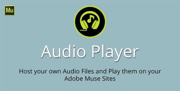 Audio Player Adobe Muse Widget - CodeCanyon Item for Sale
