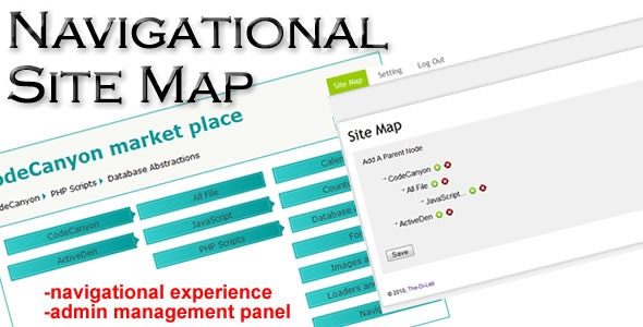 Navigational Site Map - CodeCanyon Item for Sale