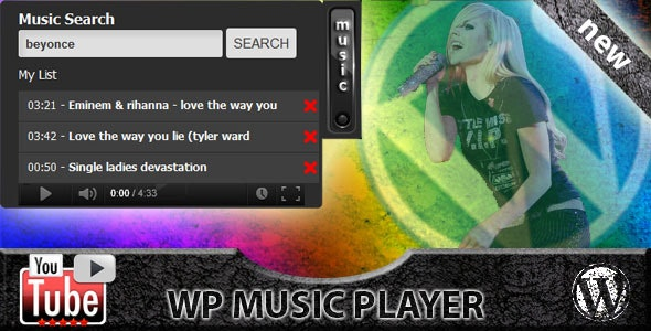 WP Video Music Box - CodeCanyon Item for Sale