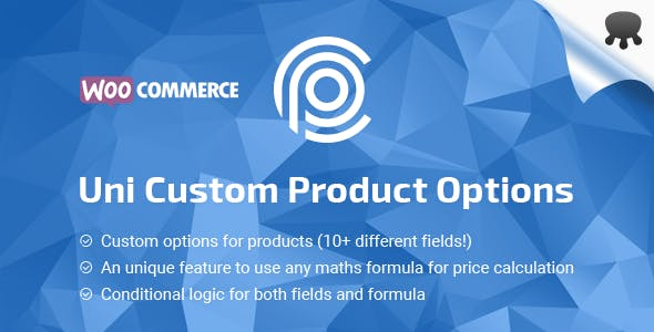 Uni CPO - WooCommerce Options and Price Calculation Formulas        Nulled