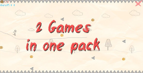Two HTML5 Games in One Style - CodeCanyon Item for Sale