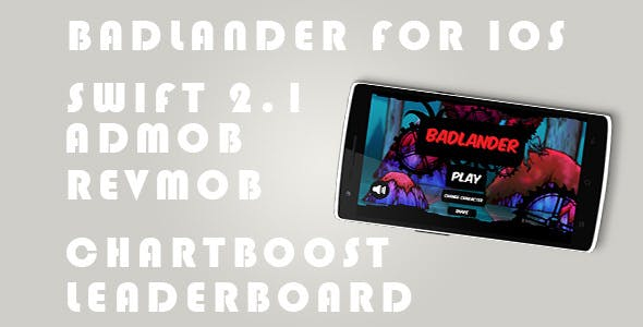 Badlander - Admob + Revmob + Chartboost + Leader