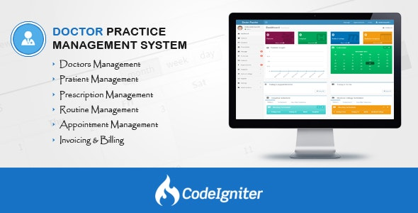 Doctor Practice Management System v2.3 - CodeCanyon Item for Sale
