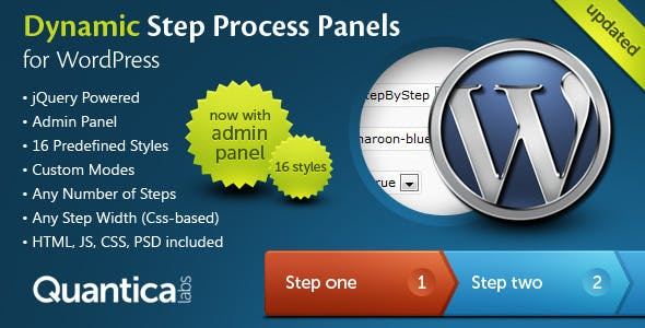Dynamic Step Process Panels for WordPress        Nulled