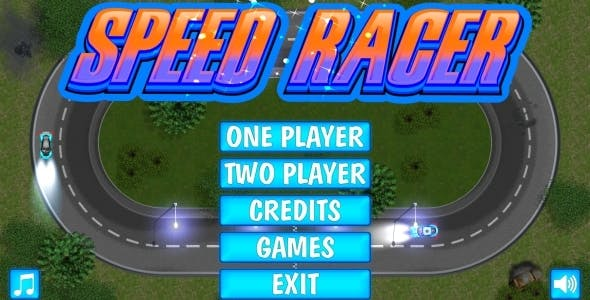 SPEED RACER - HTML5 Mobile Game in FULL HD + 3D + Android AdMob (Construct 3 | Construct 2 | Capx)