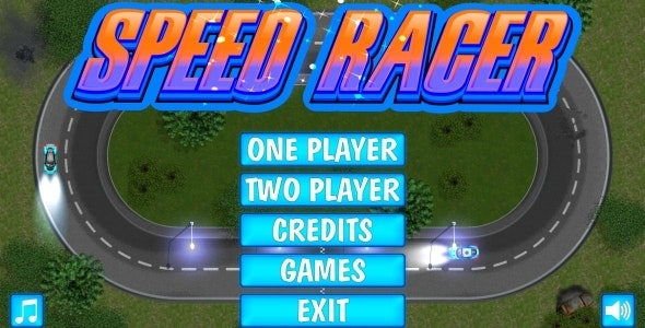 SPEED RACER - HTML5 Mobile Game in FULL HD + 3D + Android AdMob (Construct 3 | Construct 2 | Capx) - CodeCanyon Item for Sale