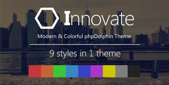 Innovate - Modern and Colorful phpDolphin Theme