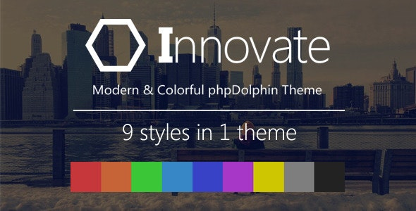 Innovate - Modern and Colorful phpDolphin Theme - CodeCanyon Item for Sale