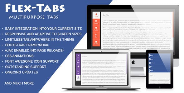 FlexTabs: Responsive Tabs to Accordion