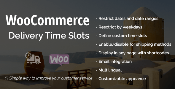 WooCommerce Delivery Time Slots - CodeCanyon Item for Sale