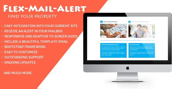 Flex-Mail-Alert - A Responsive Form To Find Properties - CodeCanyon Item for Sale