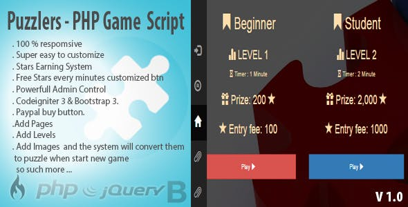 Games Script PHP Plugins, Code & Scripts from CodeCanyon