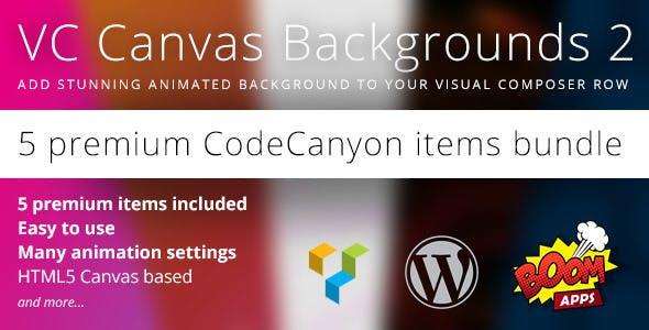 VC Canvas Backgrounds Bundle 2